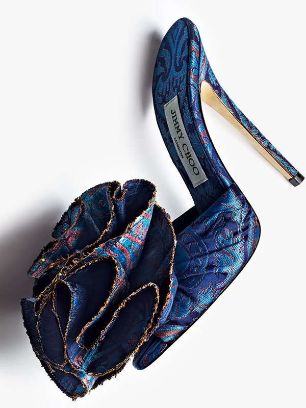 Jimmy Choo Indian Benarasi Brocade Shoe
