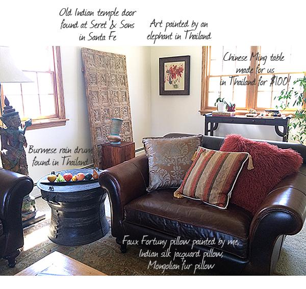 Nomadic Decorator House Tour - Living Room
