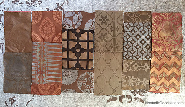 Rectangular Patchwork Layout