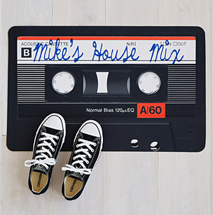 80x Mix Tape Doormat