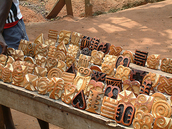 Adinkra Cloth Stamps in Ghana Flickr