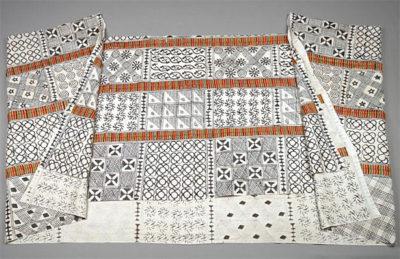 Adinkra Cloth from Museum of Fine Arts San Francisco