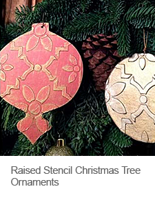 diy-raised-stencil-christmas-tree-ornaments