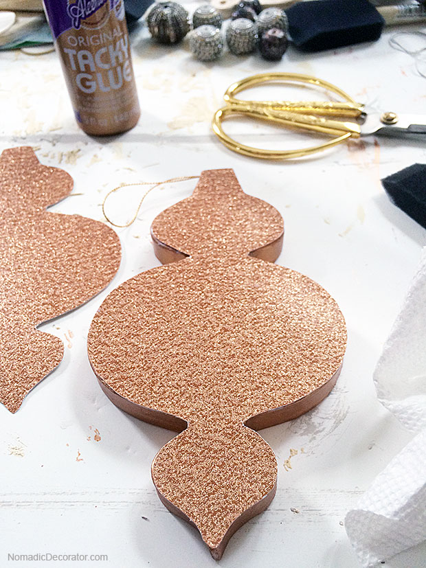 Glitter Christmas Tree Ornament