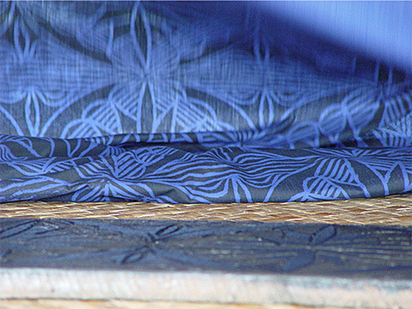 Elei Fabric Printing from Museum of Samoa