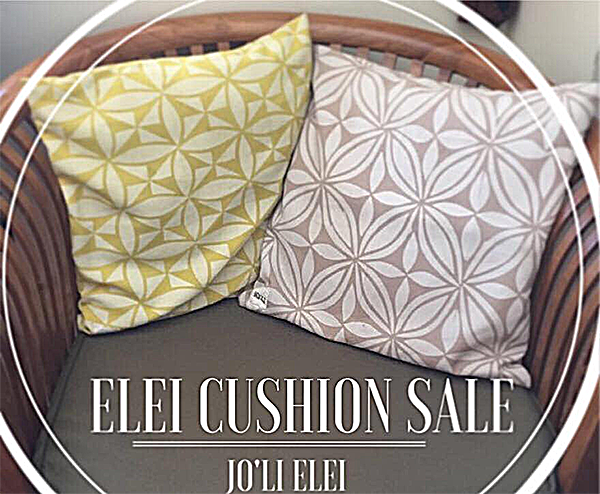 JO'LI ELEI Fabric Pillows
