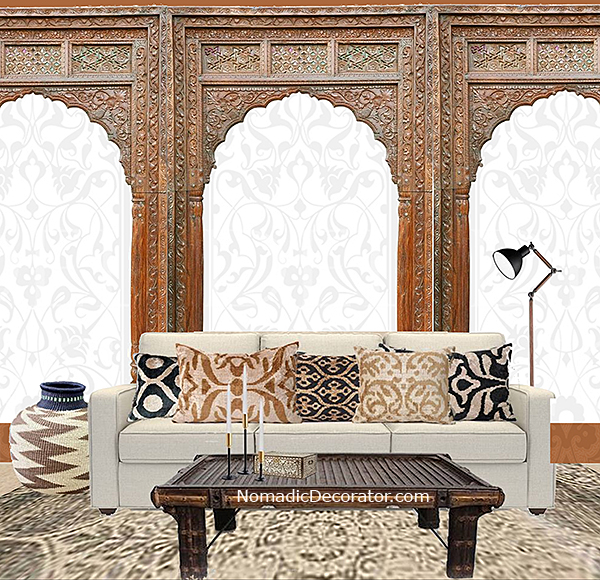 India Apartment Living Room