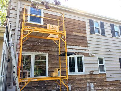 Removing Exterior Paint from Cedar Siding