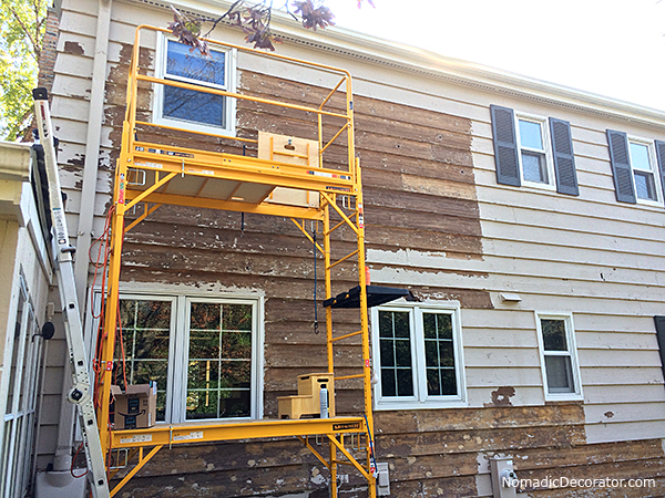 Removing Exterior Paint from Cedar Siding