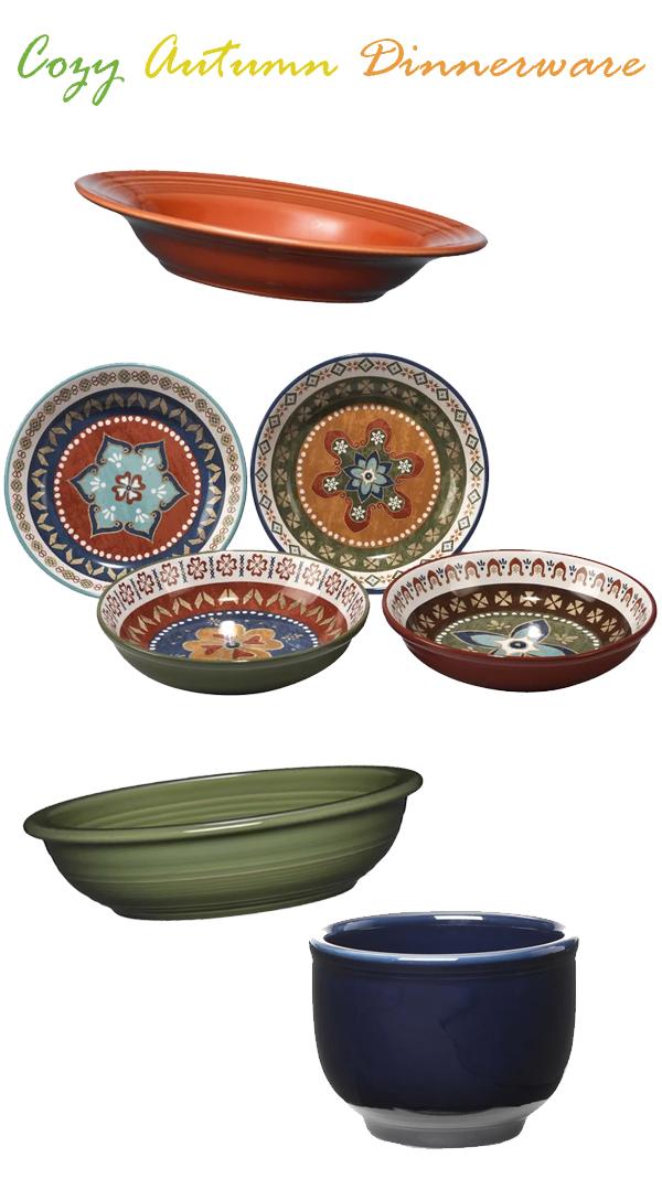 Autumn Color Dinnerware