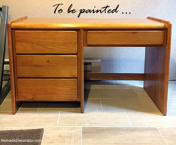 Desk to be painted