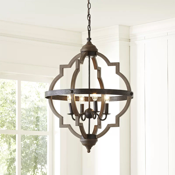 Dimmable Chandelier at Wayfair