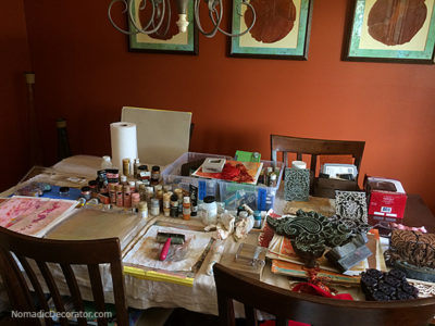 Dining Room Mess