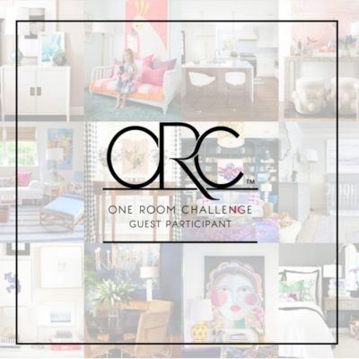 ORC One Room Challenge Guest Participant
