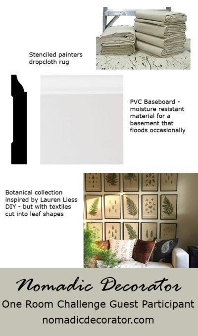 One Room Challenge Moodboard