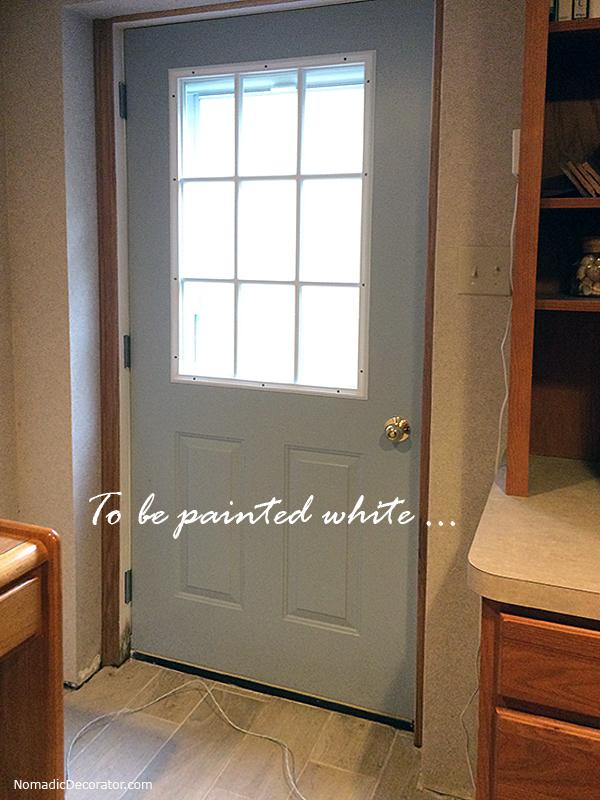 Paint Exterior Door