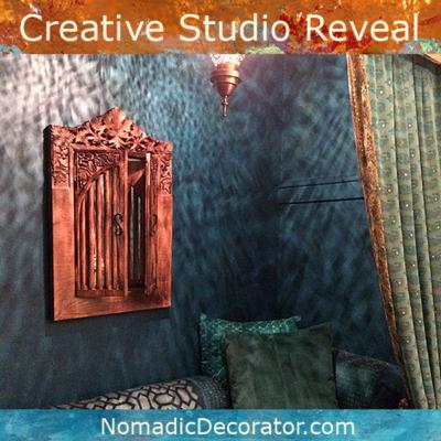 Creative Studio Makeover Reveal