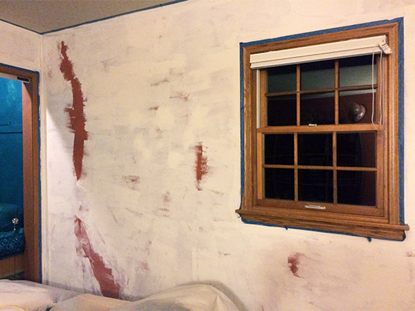benjamin moore simply white walls one room challenge week 5 how to paint an old wall look