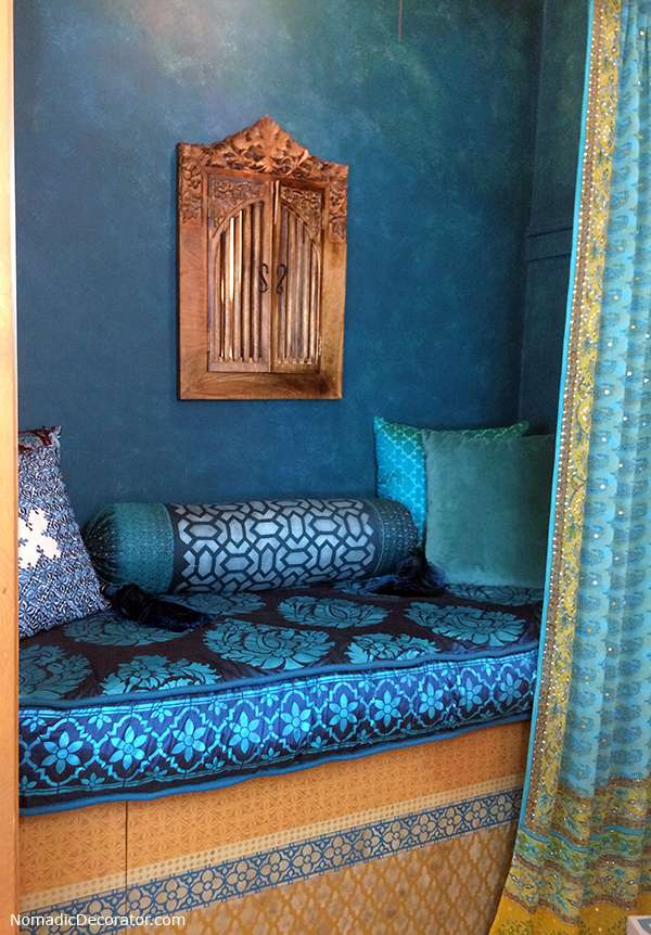 Indian Moroccan Nook