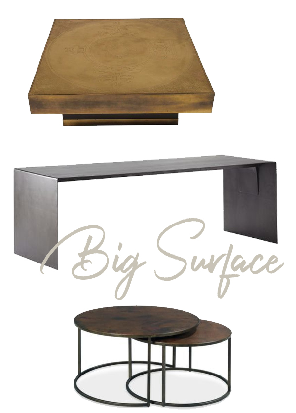 Broad Surfaces Coffee Tables