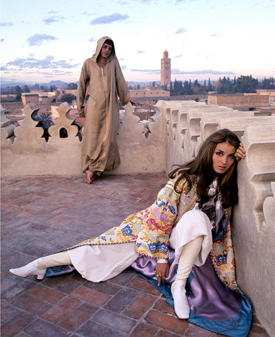 Iconic Talitha Getty Photo