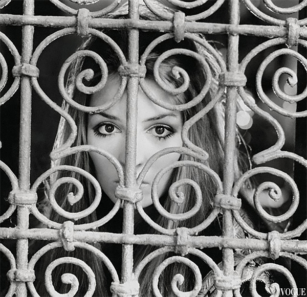 Talitha Getty and Iron Grillwork Palais de la Zahir