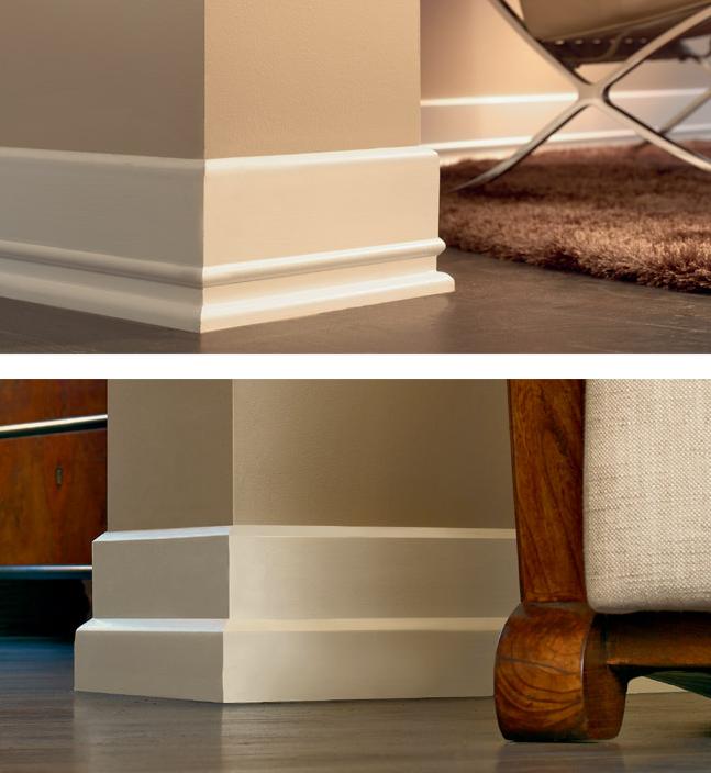 Wood Baseboard Molding Examples