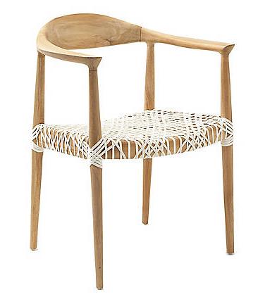Savafieh Woven Seat Chair
