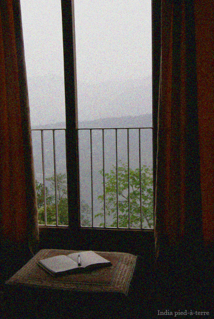 The Morning Light and First Glimpse of Sikkim in Gangtok - India pied-a-terre blog