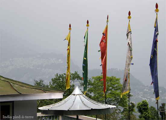 Prayer Flags in Sikkim - India pied-a-terre blog