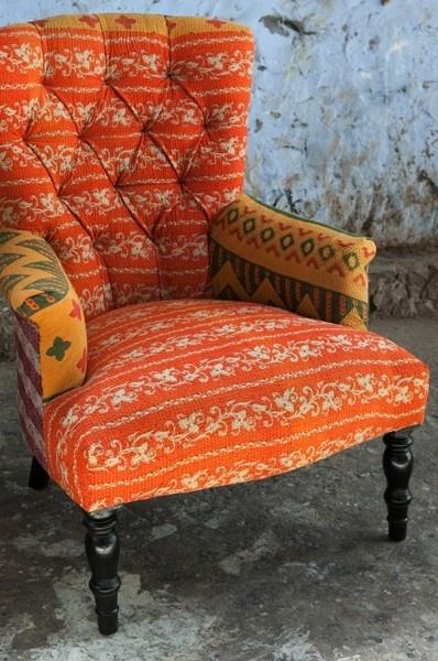 Sari Covered Chair via Ruby Star Traders