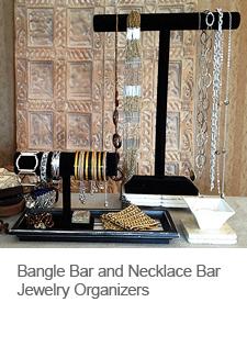 DIY Bangle Bar Jewelry Organizer