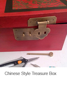 DIY Box with Chinese Hardware