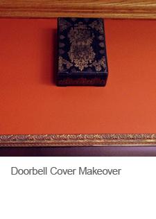 Doorbell Cover Makeover