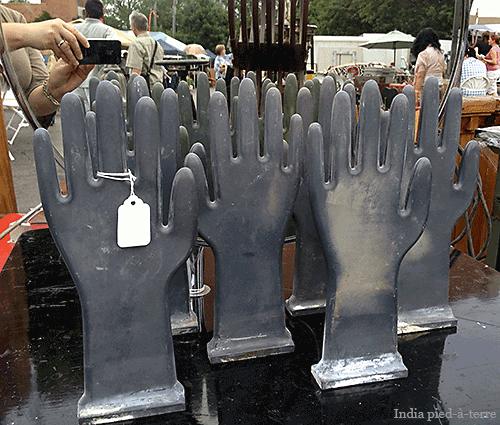 Glove Mold Hands at Randolph Street Market