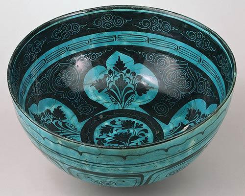 Bowl from Iran at The Met