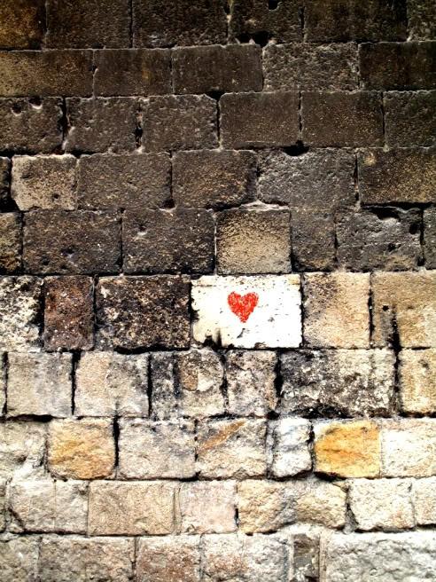 Heart in Surprising Place via desordre