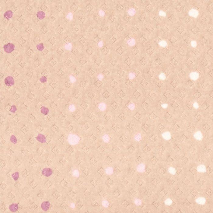 Dusty Pink Nani IRO Colorful POCHO Knit from Kelani