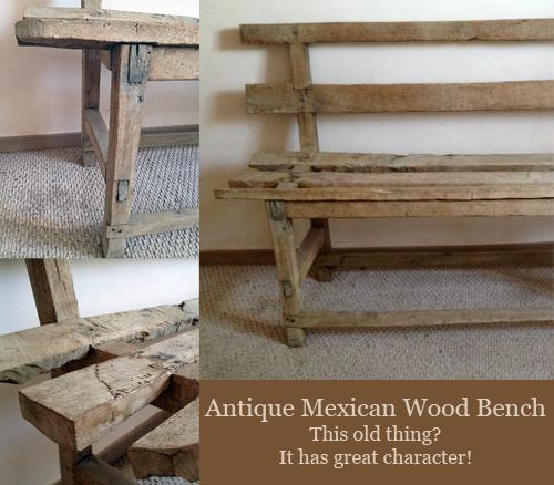 Mexican-Wood-Bench-Santa-Fe-Craigs-List