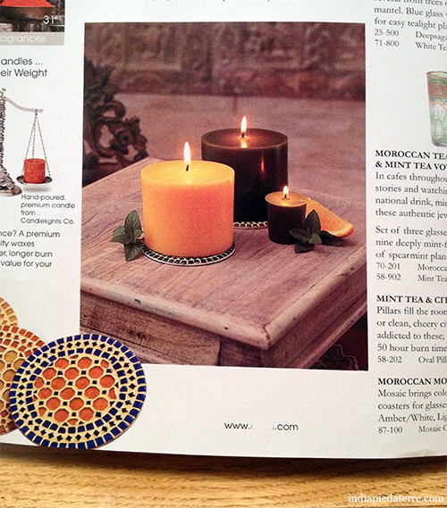 Mint-and-Citrus-Candles