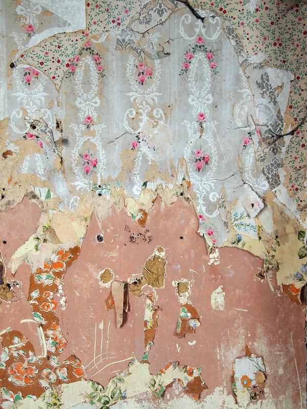 Peeling Wallpaper by L'imaGiraphe on Flickr