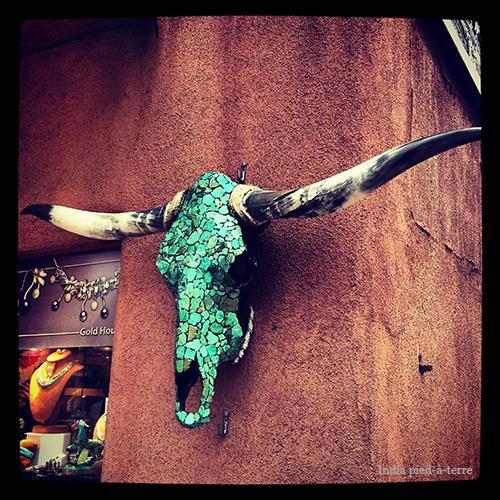 Turquoise-Skull