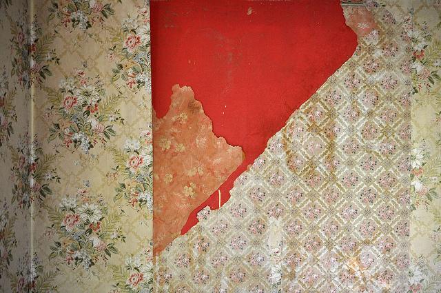Wallpaper Layers by Tess of Demure Folk Blog