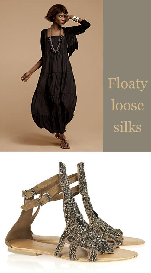 Eileen-Fisher-Silk-Dress-and-Antik-Batik-Sandals
