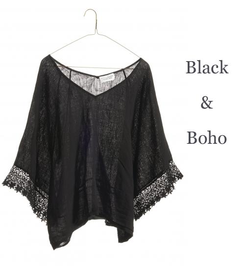 Nili-Lotan-Black-Linen-Boho-Top