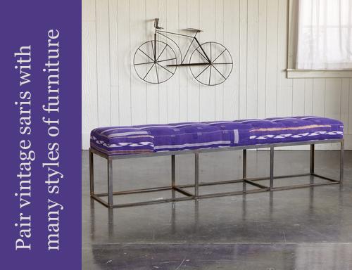 Sundance-Vintage-Sari-Upholstered-Bench