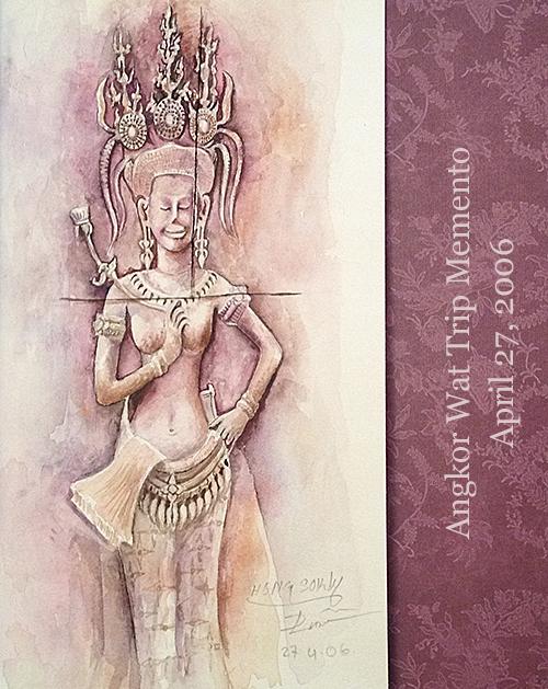 Angkor Apsara via India pied-a-terre