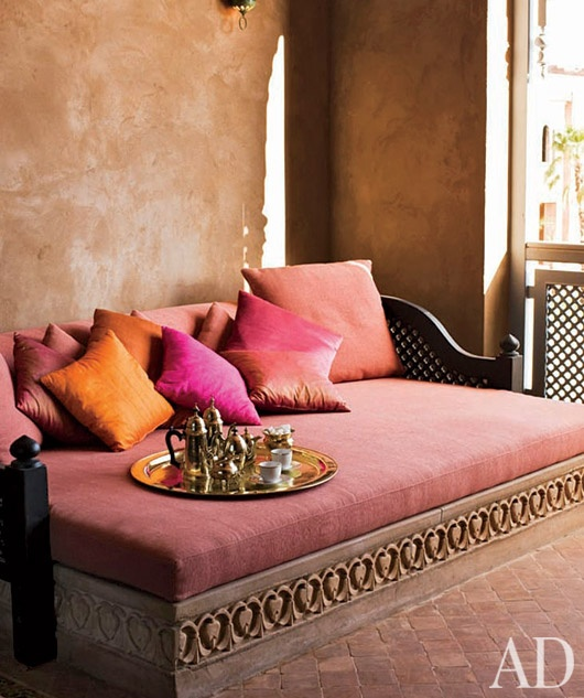 Orange and Pink Architectural Digest