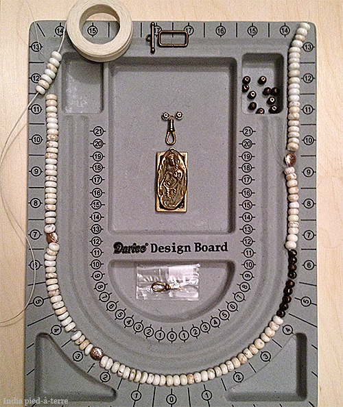 Bead Layout for Necklace