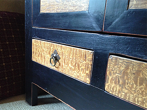 Chinese Cabinet Rounded Edges